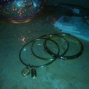 COACH Triple Bangle Bracelet